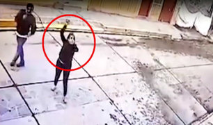 Cusco: mujer lanza piedras a discoteca tras ser expulsada