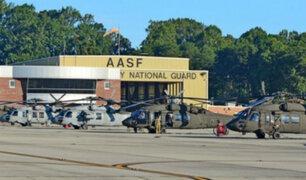 EEUU: reportan un tirador activo en base aérea de Tennessee