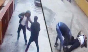 Juliaca: ladrones golpean hasta desmayar a hombre para robarle zapatillas