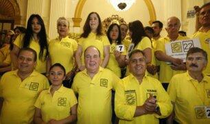 """Solidaridad Nacional apeló fallo de JEE: """"No existe el acto de discriminación"""""""