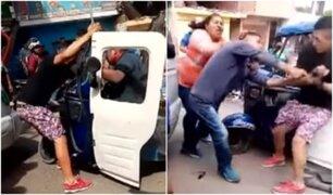 Chorillos: cómplices ayudan a delincuente que sufrió accidente tras robar a trabajadores