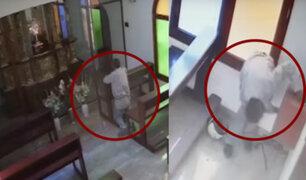 Rímac: capturan a falso feligrés que robó limosnas de una parroquia