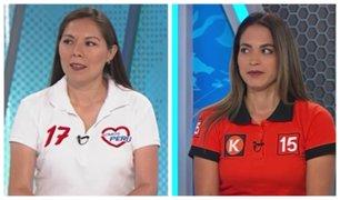 Kharla Heredia y Asceli Rabasa: mejoras en salud y educación entre sus propuestas