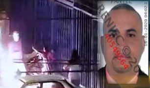 La Victoria: recapturan a sujeto que intentó quemar viva a su pareja