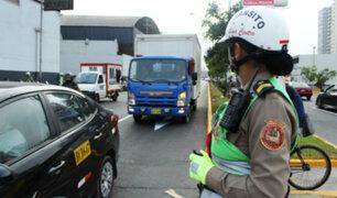 Multarán a camiones que incumplan restricción horaria en zona céntrica de Lima