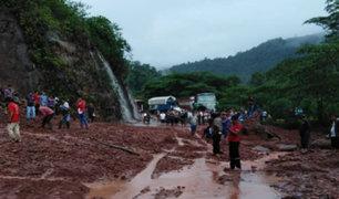 Huánuco: hombre perdió la vida tras ser sepultado por huaico