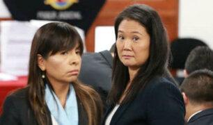Tras regreso a prisión preventiva, presentarán caso de Keiko a instancias internacionales