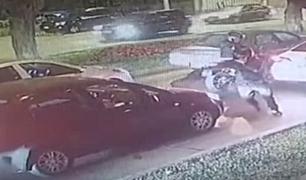 Miraflores: delincuentes aprovechan luz roja de semáforos para robar