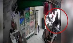 Comas: caen ladrones que asaltan botica con arma falsa