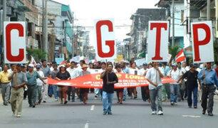 """CGTP pide aumentar sueldo mínimo a S/1500: """"En igualdad de la canasta básica familiar"""""""