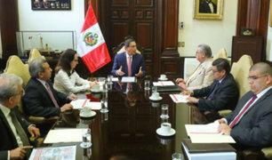 Presidente Vizcarra y Comisión de Reforma del Sistema de Justicia sostuvieron reunión