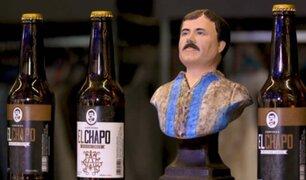 """México: presentan cerveza dedicada al capo mexicano """"El Chapo"""" Guzmán"""