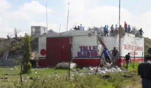 México: explosión de taller de pirotecnia deja al menos dos muertos y seis heridos