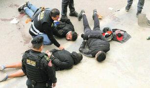 Agentes de la Policía desarticularon bandas criminales en el Callao