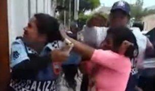Barranco: ambulantes y fiscalizadores protagonizaron violenta gresca