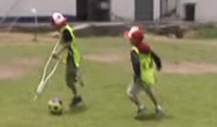 Teletón: niños con discapacidad participan en Taller de Deporte Adaptado