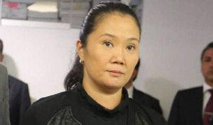 Keiko Fujimori: se reanudó última audiencia de pedido de prisión preventiva
