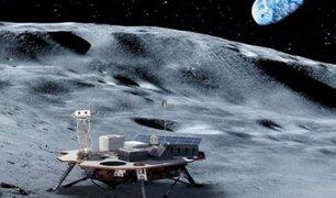 ESA crea un método para extraer oxígeno del polvo de la Luna