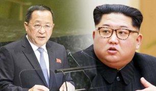 Corea del Norte cambia a su ministro de Relaciones Exteriores