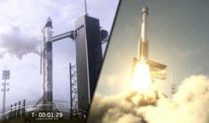 NASA: última prueba antes del lanzamiento de astronautas fue un éxito