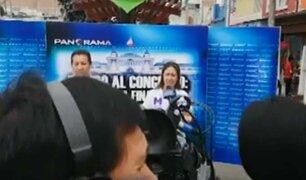 Debate Callejero: postulantes al Congreso debaten sus propuestas frente a la palestra ciudadana