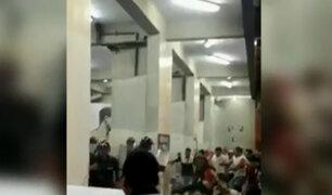 """Noche Crema"": policía se enfrenta a barristas para evitar saqueo en Estadio Monumental"