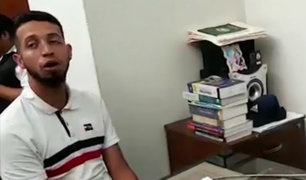 Venezolano que era policía confesó ser autor de dos crímenes en el Perú
