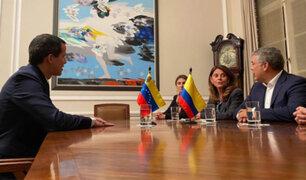 Colombia: Guaidó se reúne con secretario de EEUU en conferencia sobre terrorismo