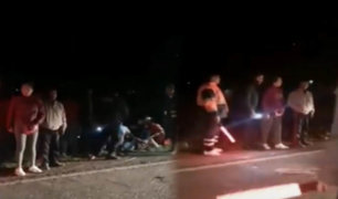 Cusco: aparatoso choque entre camión y combi dejó 15 personas heridas