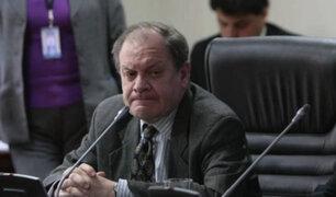 Guillermo Thornberry juró esta tarde como miembro de la JNJ en reemplazo de Falconí
