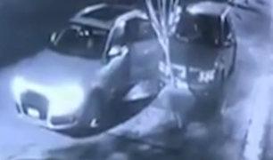 Surco: pareja se salvó de ser asaltada gracias a alarma de edificio