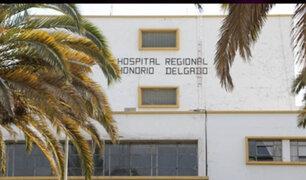 Hospital Honorio Delgado: fallece bebé de 2 meses por presunta negligencia médica