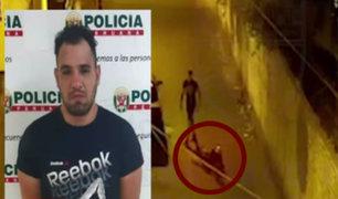 Surco: Fiscalía abrió investigación contra sujeto que golpeó salvajemente a su pareja
