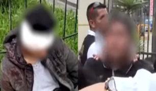 Dos menores de edad pertenecían a banda que asaltó grifo en Comas