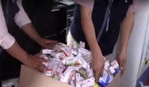 Comas: incautan más de una tonelada de medicamentos adulterados y vencidos