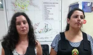 """Rímac: presuntas integrantes del Movadef promovían """"voto viciado"""""""