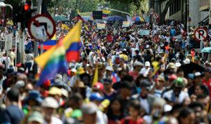 Colombia: primer día de protestas inicia con bloqueos en transporte y disturbios