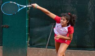 Dana Guzmán: peruana ganó títulos de singles y dobles en Mundial de Tenis
