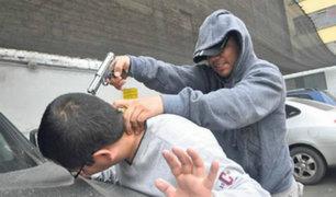 Vecinos de SJM y VES viven asustados por los constantes robos en las calles