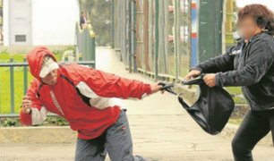 Menor conformaba banda de raqueteros que operaba en Lima y Callao