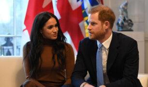 Príncipe Harry llegó a Canadá para comenzar su nueva vida con Meghan Markle