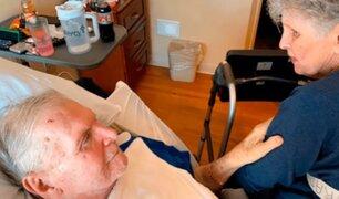 Una pareja de ancianos muere el mismo día tras pasar casi 65 años juntos