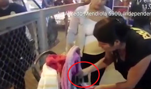 Independencia: venden celulares robados en coches de bebés