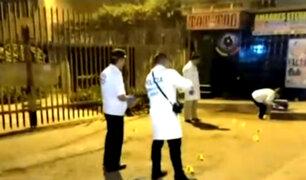Comas: dos muertos y un herido tras balacera por presunto ajuste de cuentas