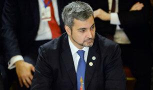 Confirman que presidente de Paraguay, Mario Abdo Benítez, contrajo dengue