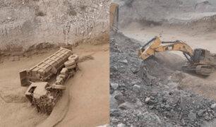 Moquegua: dos operadores de maquinaria pesada salvan de morir