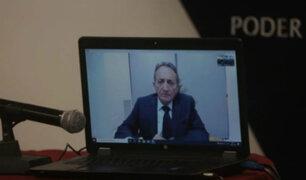 Caso Toledo: fiscal Pérez interroga a Maiman por videoconferencia