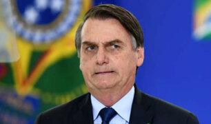 Brasil: Bolsonaro asegura que no dará más entrevistas para no agredir a periodistas