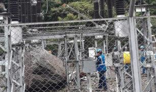 Cusco: roca cayó sobre central hidroeléctrica y provocó corte eléctrico masivo en La Convención