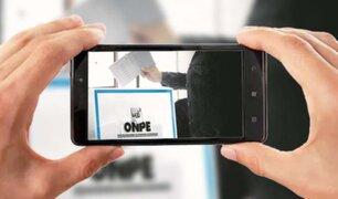 JNE: electores que se tomen fotos con su cédula de votación podrían recibir hasta un año de cárcel